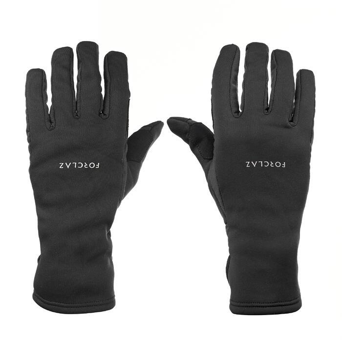 Trek 500 成人户外可触屏手套 - 黑色