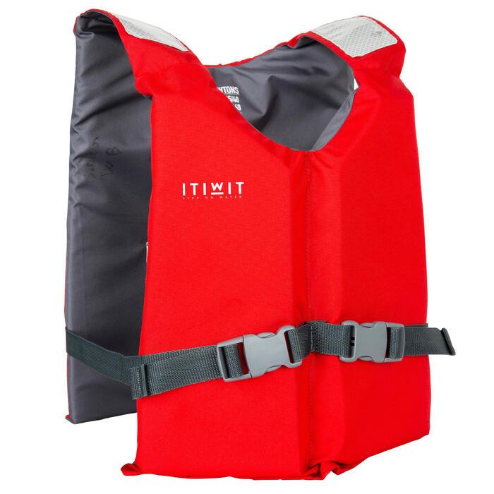 皮划艇立式桨板浮力背心BA 50 N Red