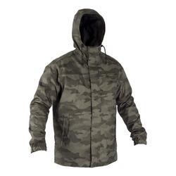 荒野探险防寒保暖防水多口袋男士棉服外套 SOLOGNAC WL Sibir 100