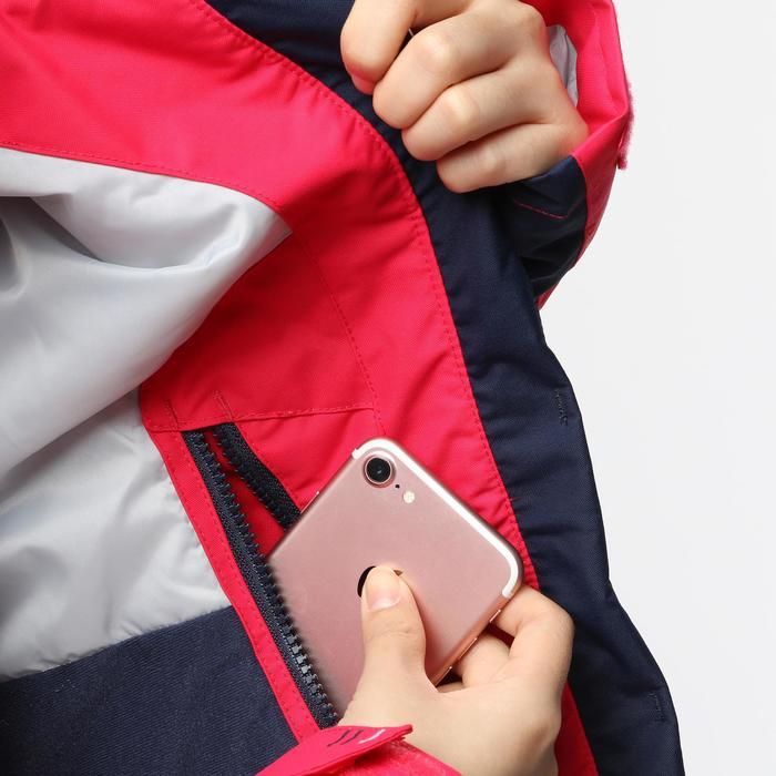 女子航海保暖夹克100 - Pink / Dark Blue