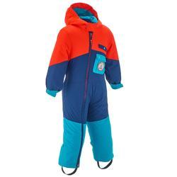 滑雪运动保暖 防水 个性化印刷婴幼儿三合一套装 WED'ZE Wedze Evoslide