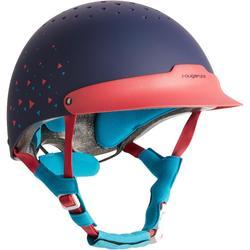 120 马术运动头盔- 粉色