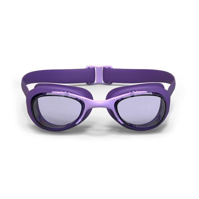游泳眼镜100 XBASE L号,Purple