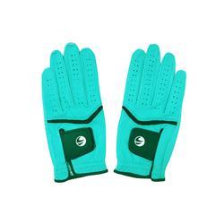 高尔夫运动蓝色女士手套(双) INESIS 500系列