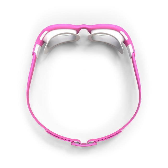 游泳眼镜100 EASYDOW , S号 - Pink