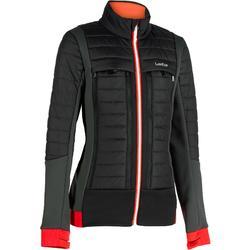 女式滑雪夹克 MID WARM 900 - BLACK