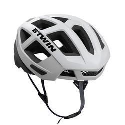 赛车骑行头盔-白色/黑色