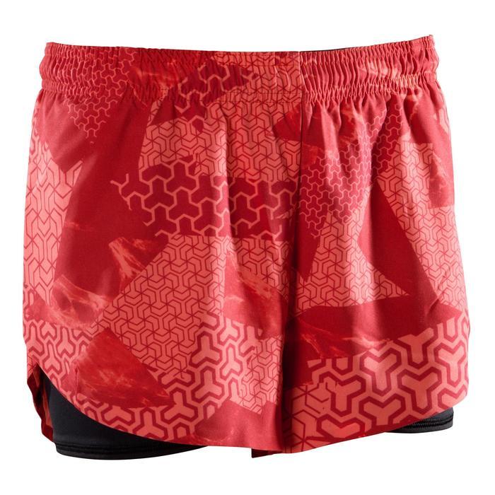 女式综合训练短裤 500 - 粉色