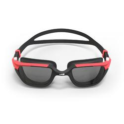 游泳眼镜500 SPIRIT , L号 - Black Red, Smoke Lenses