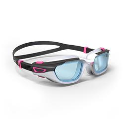 游泳眼镜SPIRIT S 号- White Pink, Clear Lenses