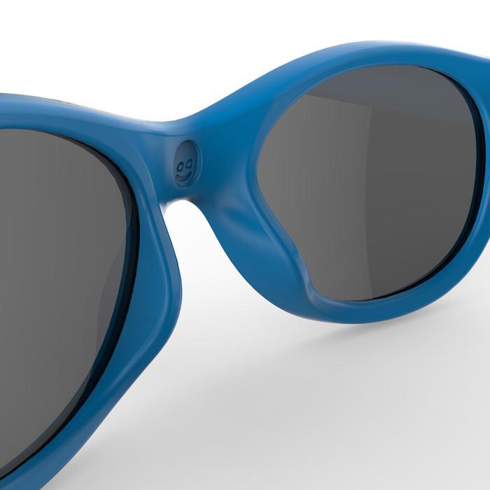 儿童徒步旅行太阳镜 MH K100,3 号(3 - 5 岁)- 蓝色