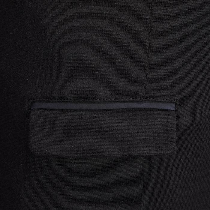 100 儿童马术竞赛服 - 黑色
