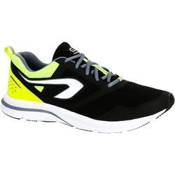 RUN ACTIVE 男士跑鞋-黑/黄配色