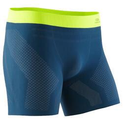男士跑步平角短裤- 蓝色