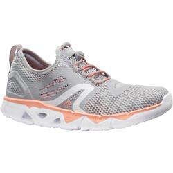 PW 500 Fresh女士健走鞋-灰色/珊瑚色