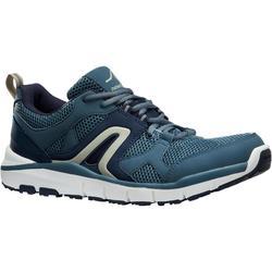 HW 500 男士网面健步鞋 蓝色/灰色
