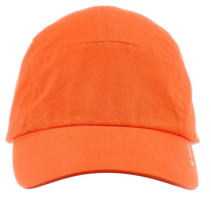 儿童徒步遮阳帽 HIKE 500 橙色