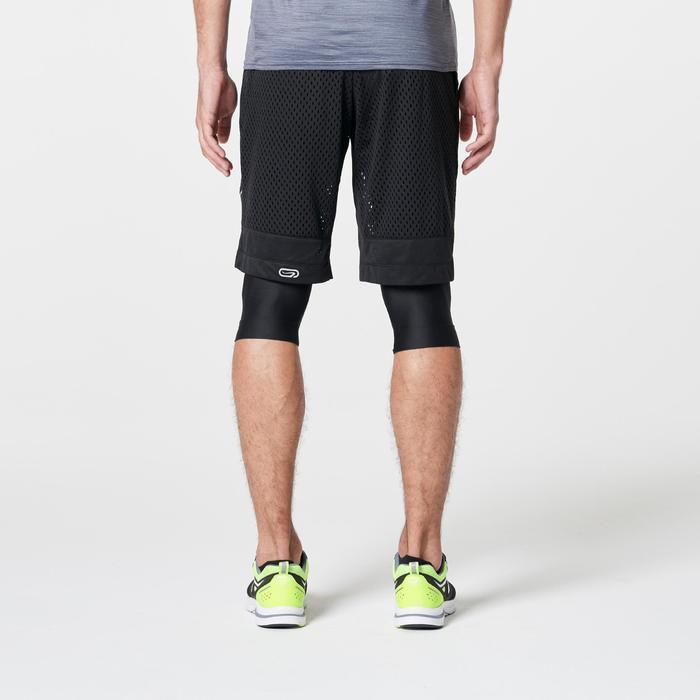 男士跑步运动快干透气短裤-黑色