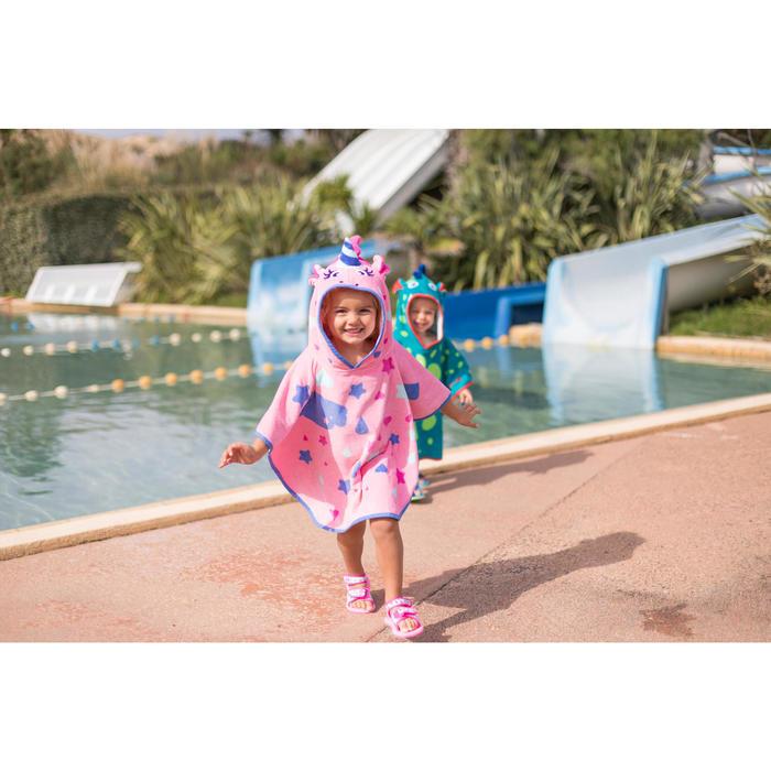 婴儿游泳凉鞋- Flamingo Print Pink