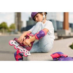 儿童直排轮护具套装PLAY - Pink