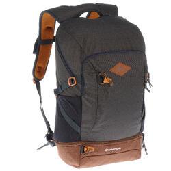郊野徒步背包-30升-深灰色丨NH500