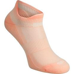 隐形舒适跑步袜 2双装 粉色