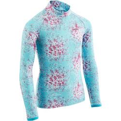 滑雪运动柔软贴身保暖透气儿童青少年打底衣 WED'ZE Fresh Warm