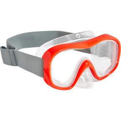 浮潜面镜 - 红色 FRD100