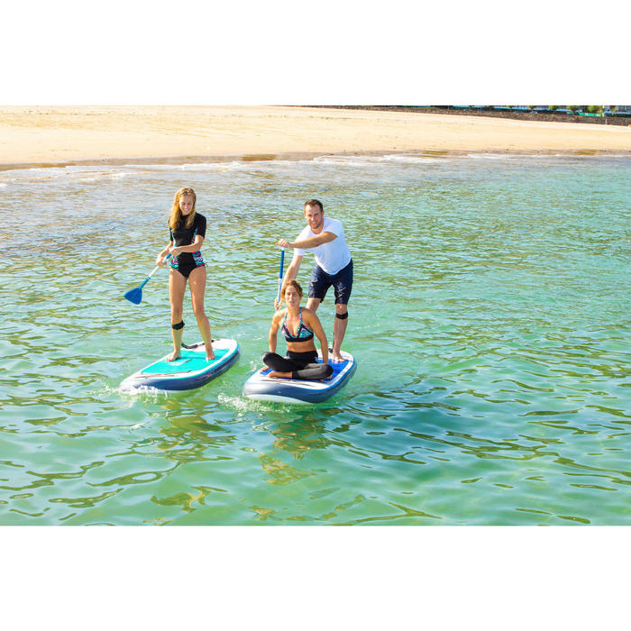 100 Inflatable 10'7 Touring Stand Up Paddle - Blue - 1283314