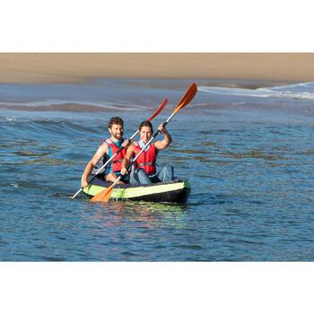 两节式可调节皮划艇对称划桨X100 Symmetrical