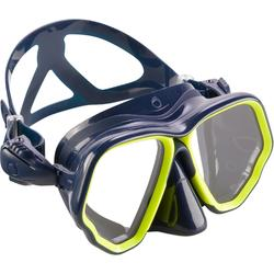 水肺潜水面镜 - 黄蓝色 SCD 500 系列