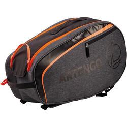 小号球拍运动背包130 - 灰色/橙色