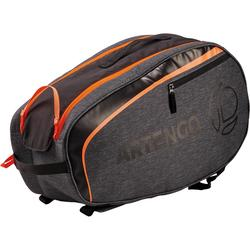 SB130 Small Racket Sports Bag - Grey/Orange
