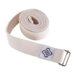 瑜伽棉质瑜伽带辅助绳 DOMYOS