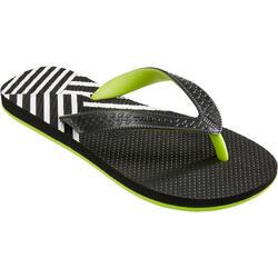 冲浪运动耐磨轻盈青少年夹脚拖鞋 OLAIAN TO 500S B F-F