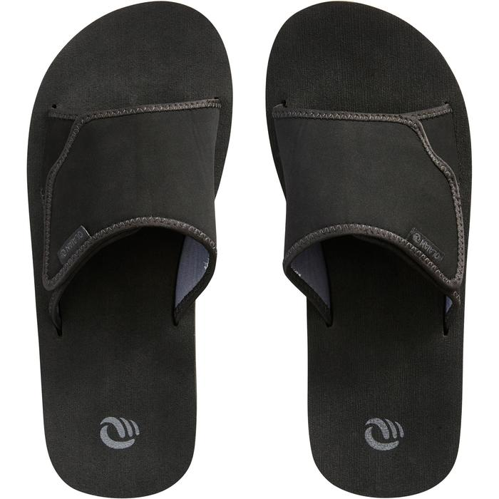 男式沙滩拖鞋SLAP 550 黑色