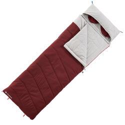 成人睡袋-0℃-棉质面料-红色 | 郊野徒步