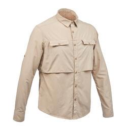 DESERT 500男式沙漠旅行衬衫 - 米色