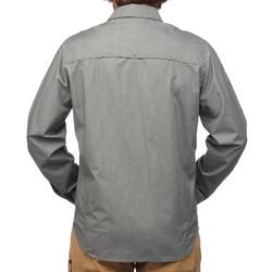 TRAVEL 500 男式长袖衬衫 - 卡其色