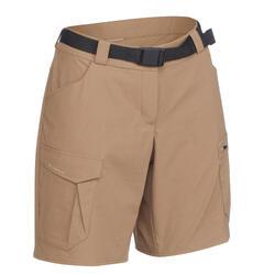 TREK 100 女式户外短裤 - 米色