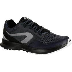 RUN ACTIVE GRIP 男式抓地跑步鞋-黑灰色