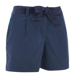 郊野徒步短裤-女士-海军蓝 | NH500
