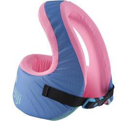 游泳背心SWIMVEST+ - Blue-Pink (15-25 kg)