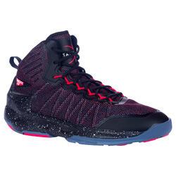 成人篮球鞋Shield 500 中阶篮球爱好者- 红色/黑色