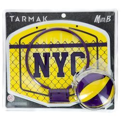 儿童/成人迷你篮板套装 Mini B -Yellow NYC包含篮球.