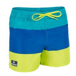 冲浪运动短款儿童沙滩裤 OLAIAN 100