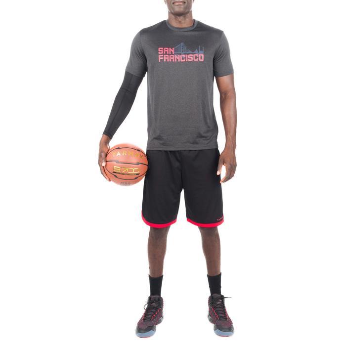 篮球T恤Fast San Francisco - 灰色