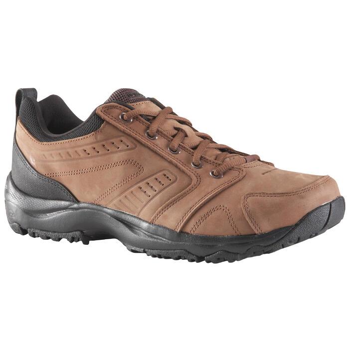 Nakuru Comfort 男士真皮健走鞋 - 棕色