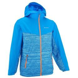 青少年男款户外皮肤衣防晒夹克 500 - 亮蓝色