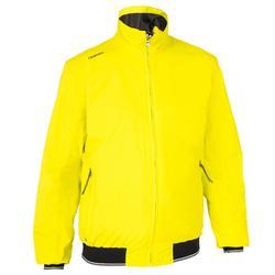 男式帆船夹克Race 100 - yellow